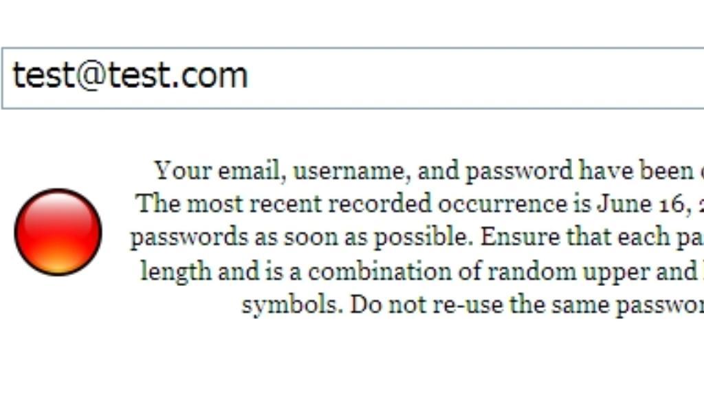 Napadený e-mailový účet