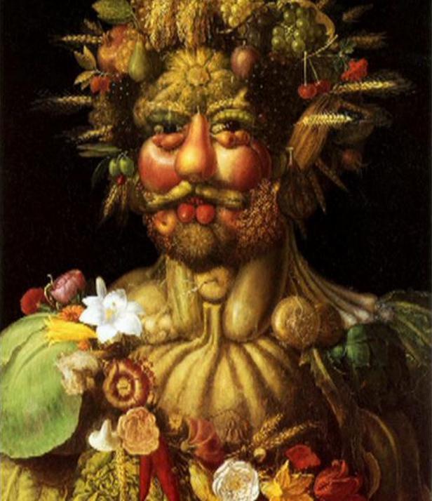 Portrét Rudolfa II. od Giuseppe Arcimbolda