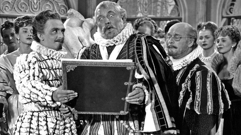 Jan Werich jako Rudolf II.