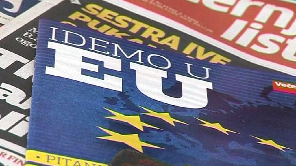 Chorvatská kampaň před vstupem do EU