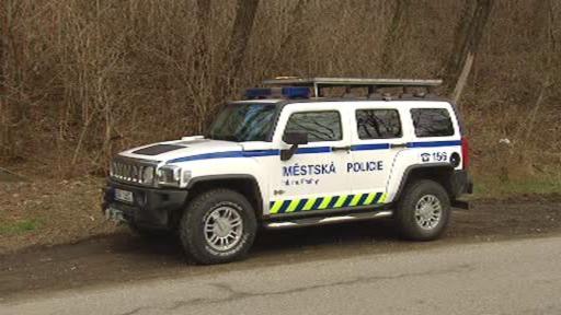 Policejní vůz Hummer