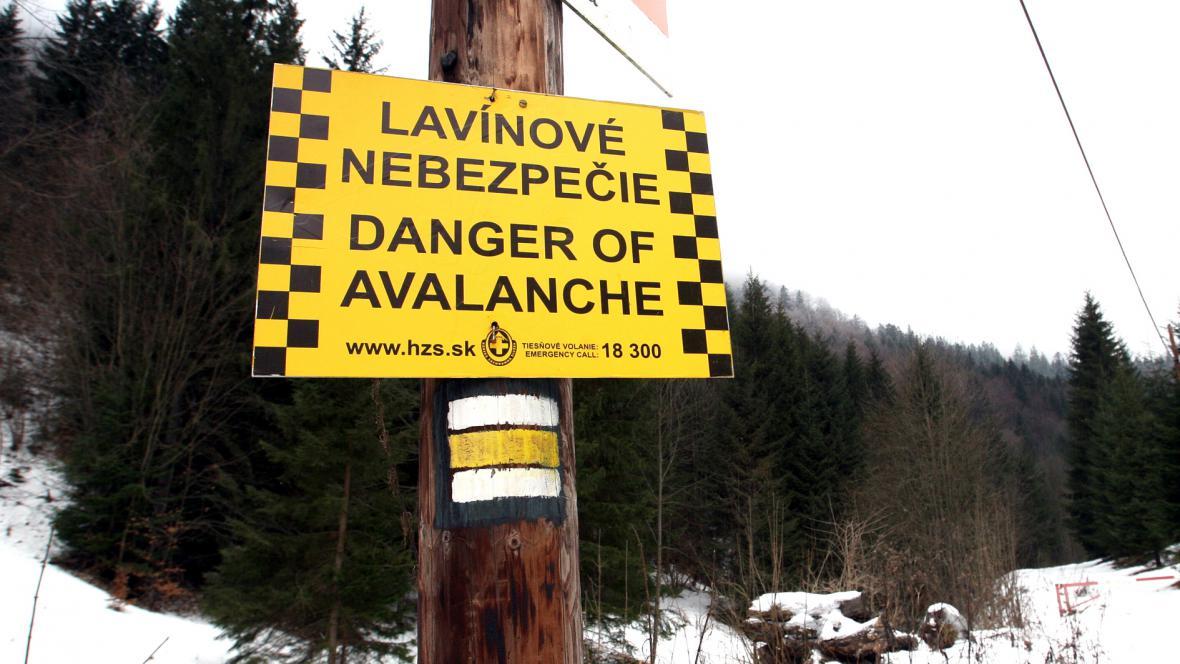 Lavinové nebezpečí