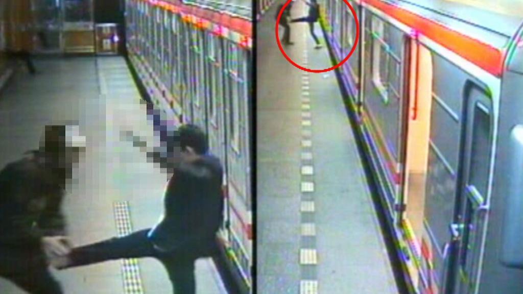 Útočníci v metru