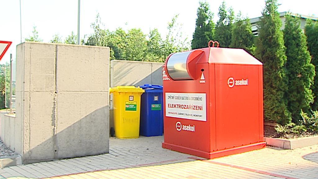 Kontejner na elektrozařízení