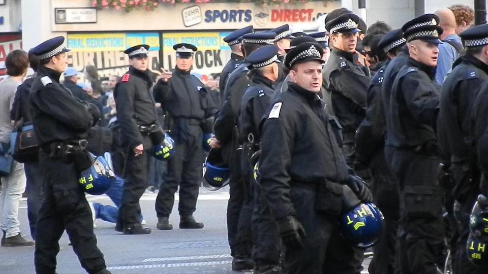 Jednotně za změnu světa - Londýn - příprava na demonstraci
