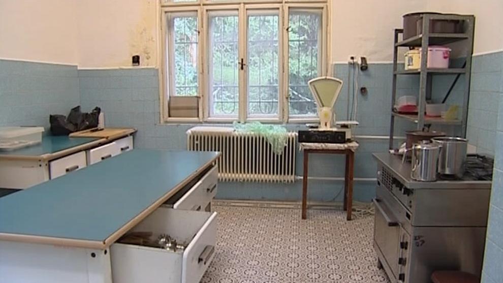 Kuchyně mateřské školy v Arnoldově vile