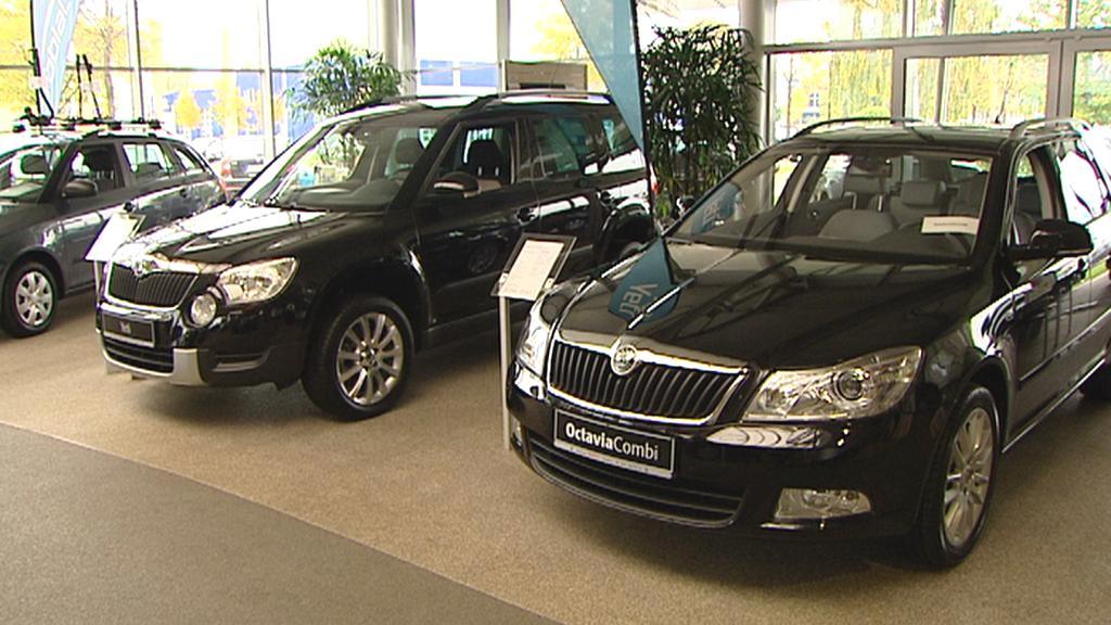 Prodej vozů Škoda