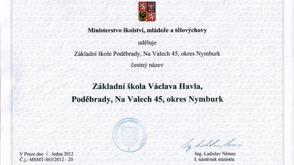 ZŠ Václava Havla