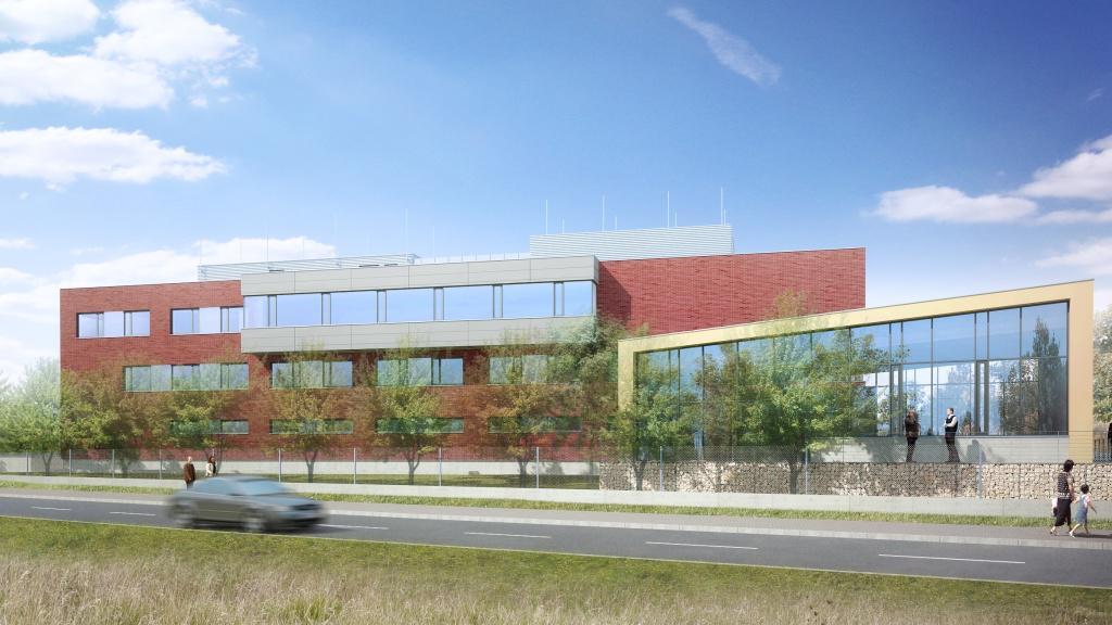 Podoba budoucího centra Zdravotnické záchranné služby