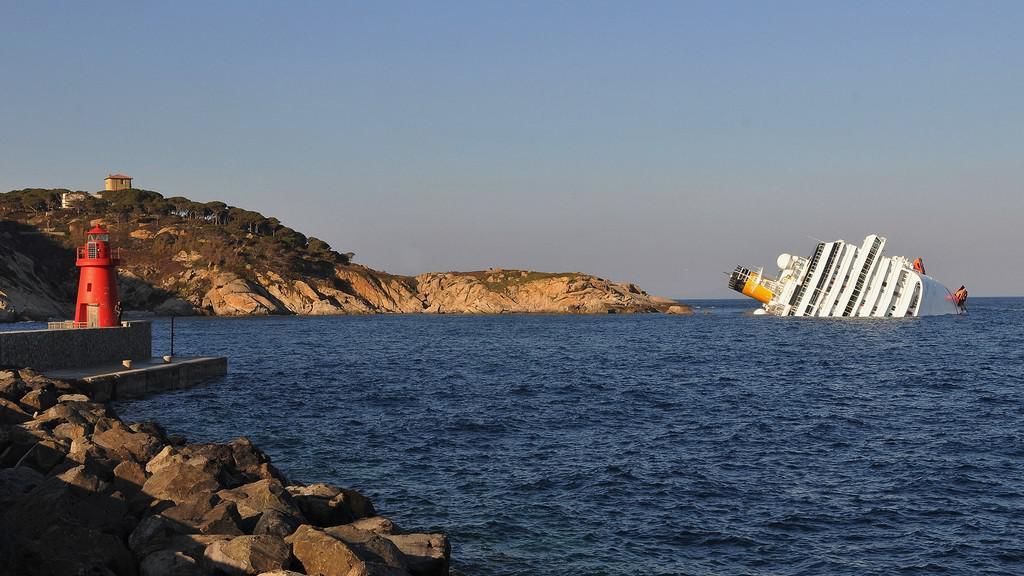 Ztroskotaná loď Concordia