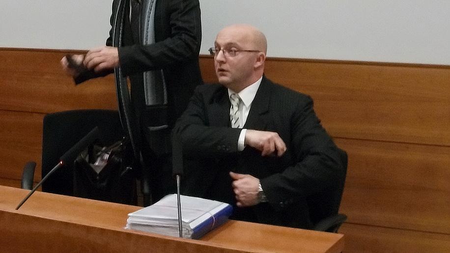 Jan Kozák před soudem