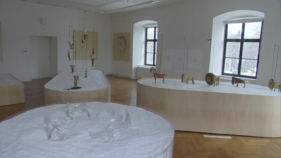Výstavní prostory zlínského zámku