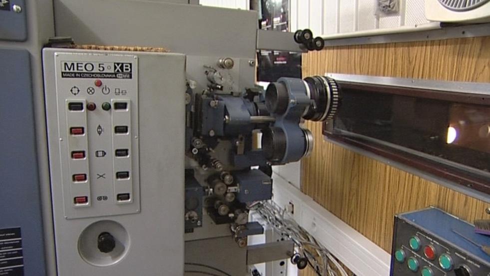 Stará technika v kině zůstala