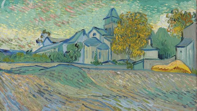 Vincent Van Gogh / Vue de l'Asile et de la Chapelle de Saint-Rémy