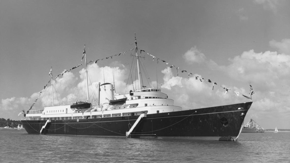 Loď Britannia - rok 1960