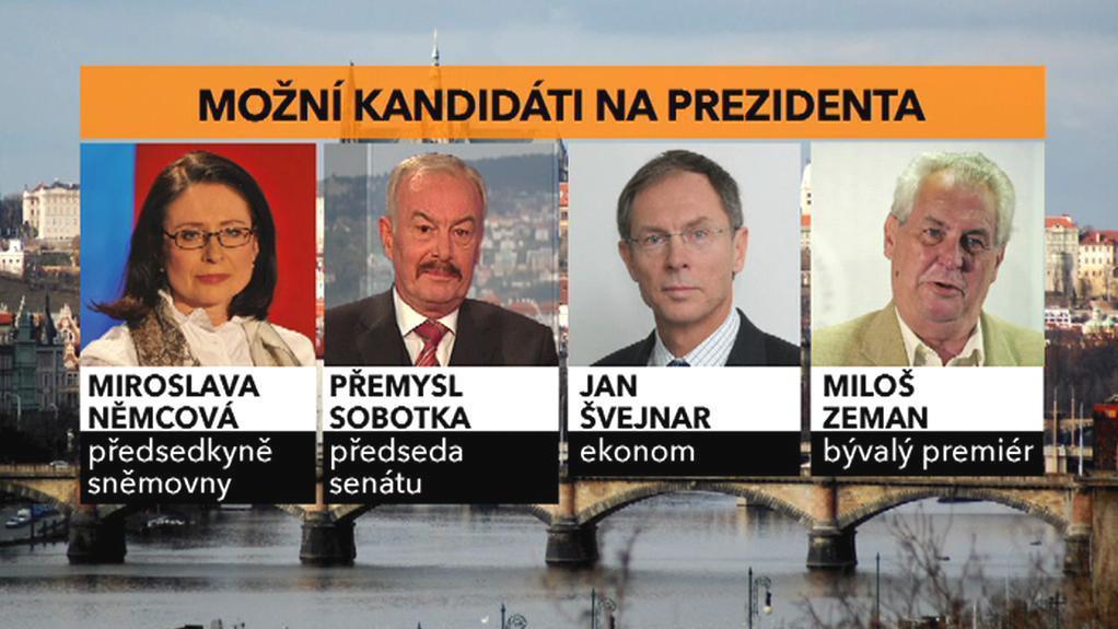 Možní kandidáti na prezidenta