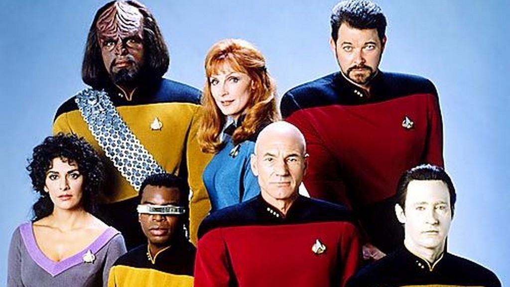 Posádka ze seriálu Star Trek