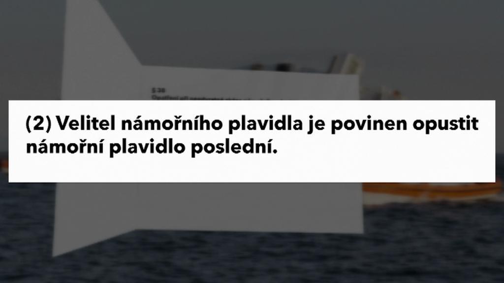Úryvek zákona o námořní plavbě