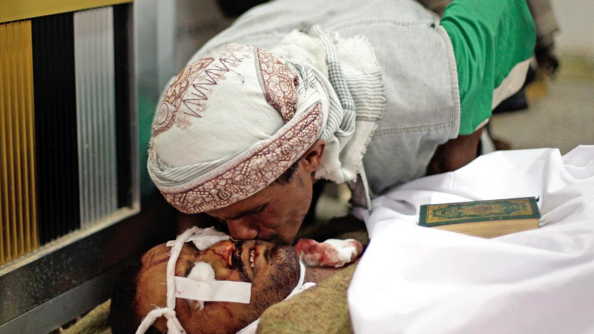 Oběť nepokojů v Jemenu