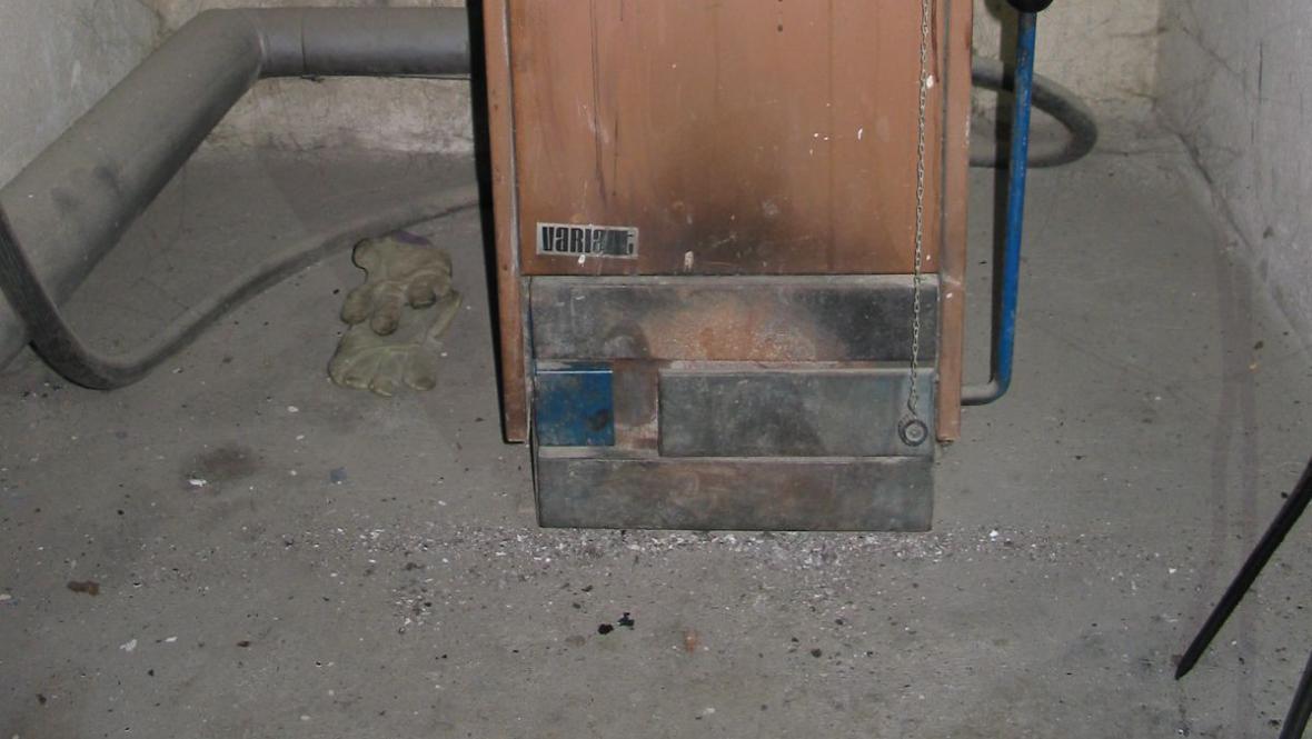 Výbuch a požár v Hradčovicích na Uherskohradišťsku