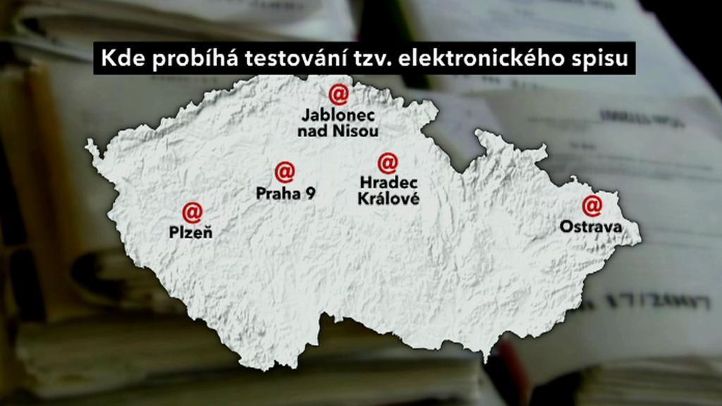 Elektronický spis na českých soudech