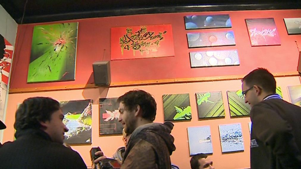 Výstava představuje graffiti v jiném světle