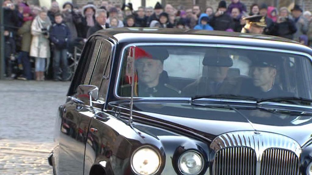 Auto s dánskou královnou