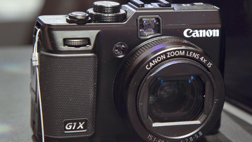 Fotoaparát Canon GX1 na veletrhu CES