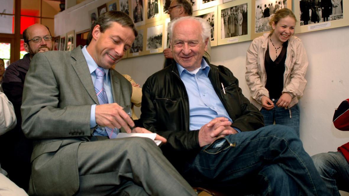Pavel Bém a Arnošt Lustig