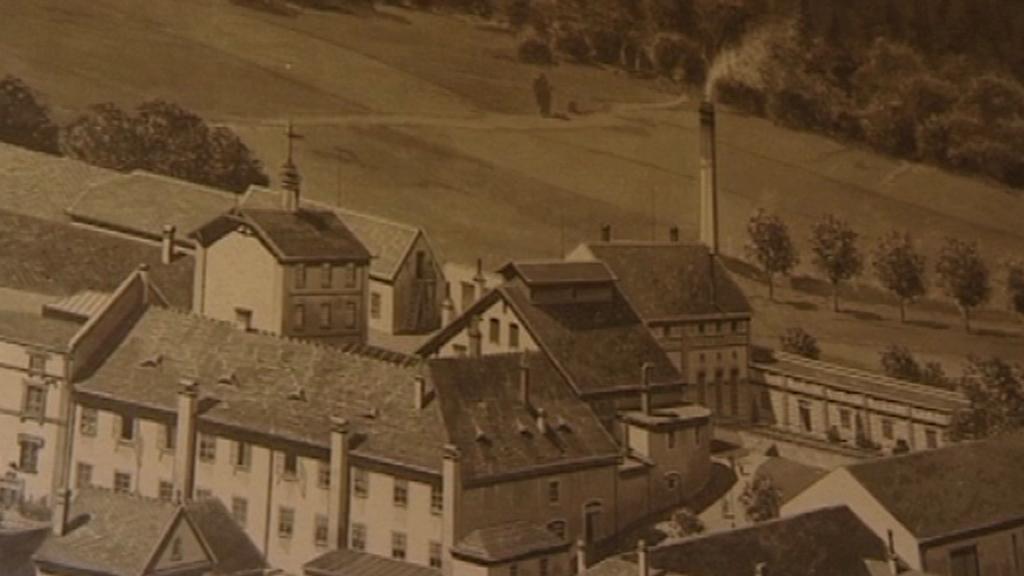 Pivovar ve Vyšším Brodě v roce 1907