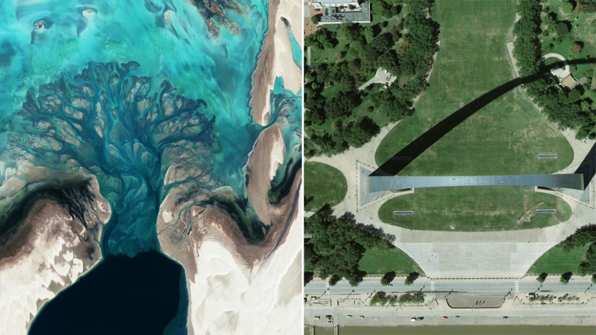 Jižní Katar a Gateway v St. Louis