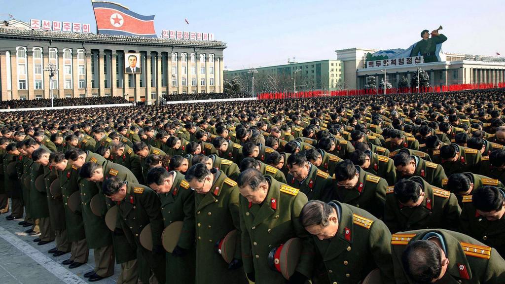 Pohřeb Kim Čong-ila