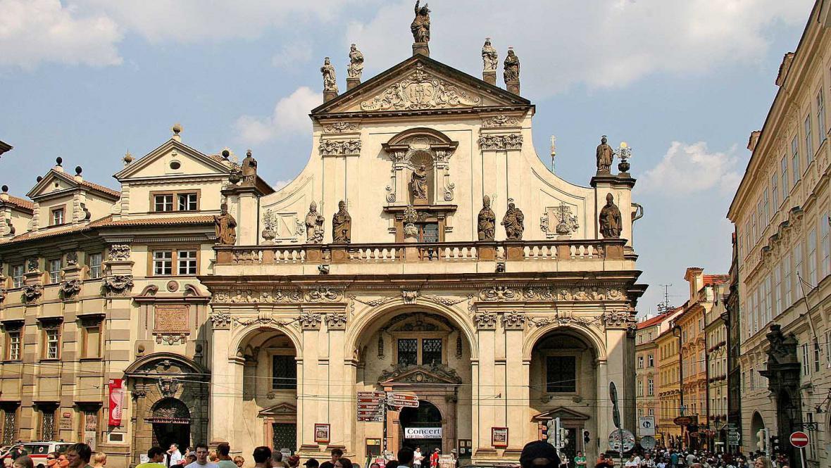 Kostel Nejsvětějšího Salvátora v Praze