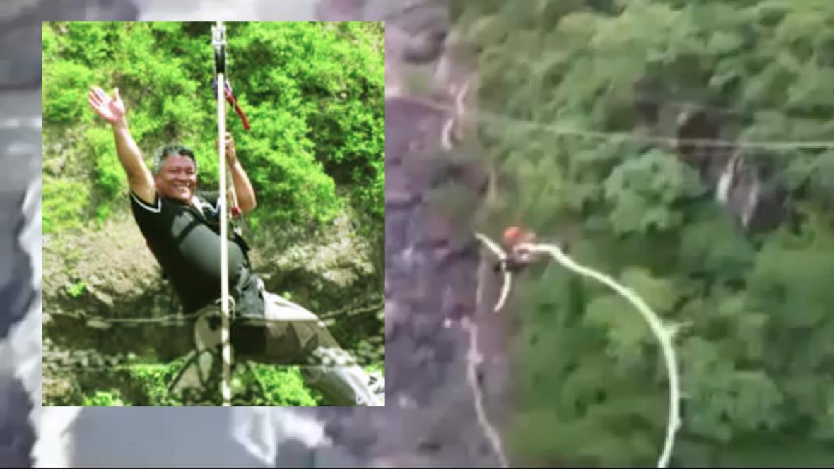 Given Lubinda si skočil bungee