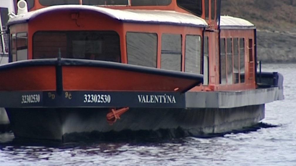 Lodě v zimě odpočívají i na Vranovské přehradě