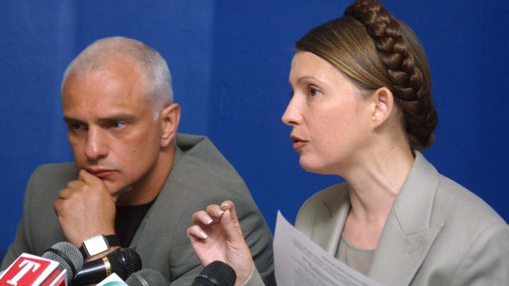 Julija Tymošenková a její manžel Olexandr