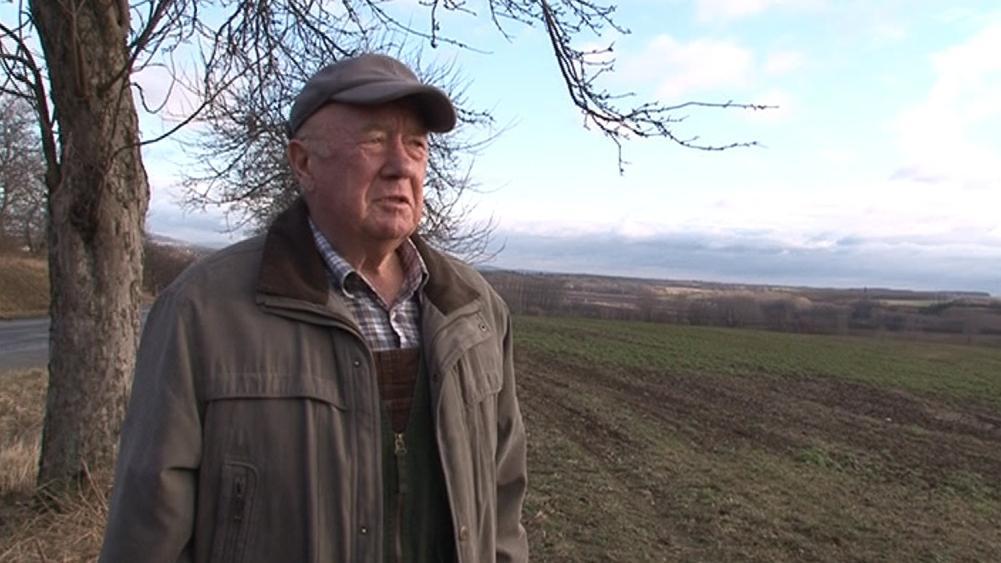 Farmář Oldřich Horák z Čejče