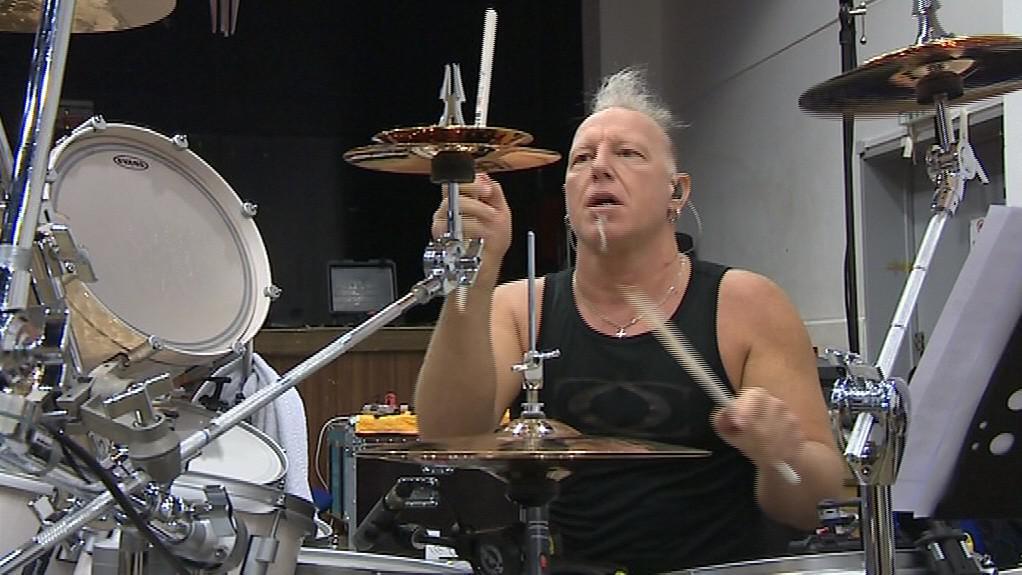 Bubeník Mike Terrana