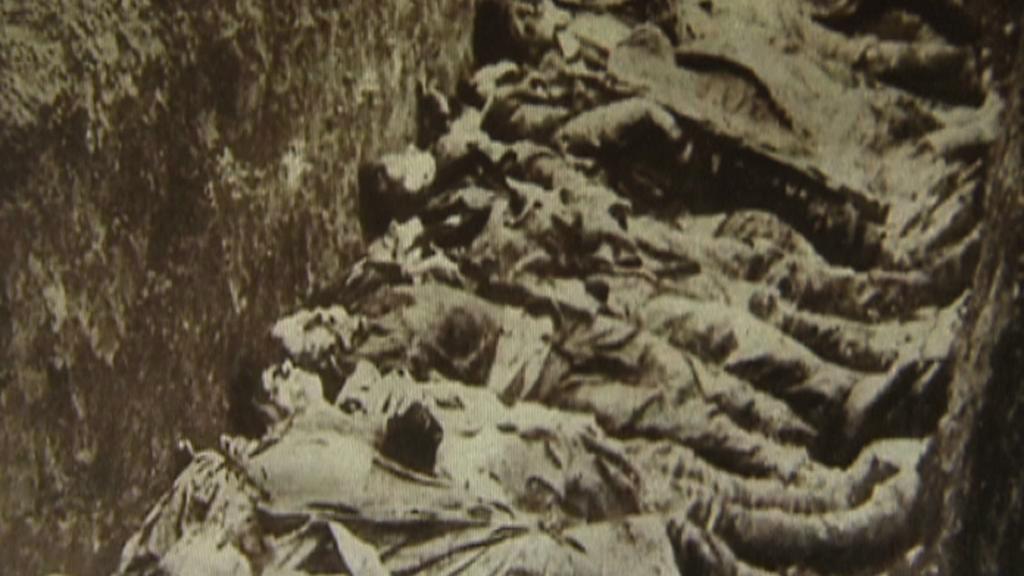 Masový hrob Lidických mužů