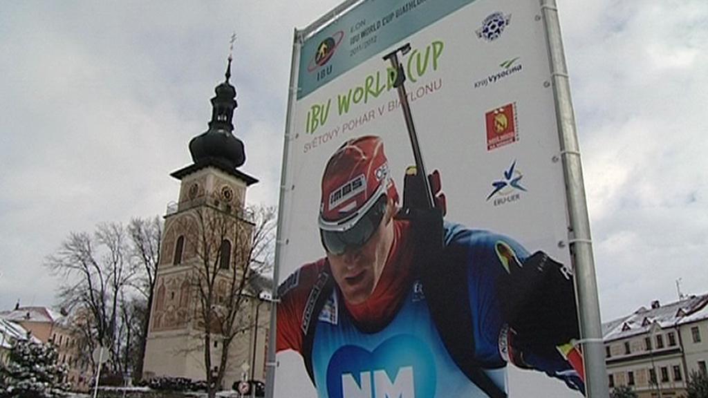 Světový pohár biatlonistů v Novém Městě