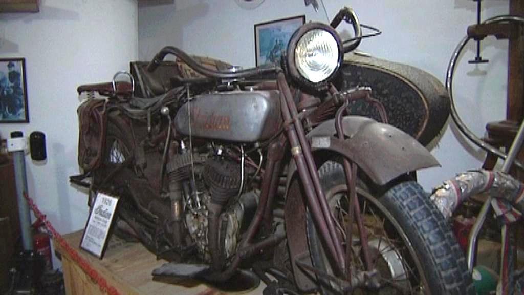 Historický motocykl