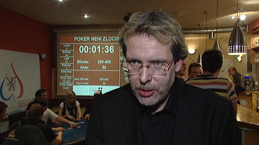 Předseda Asociace českého pokeru Milan Sláma
