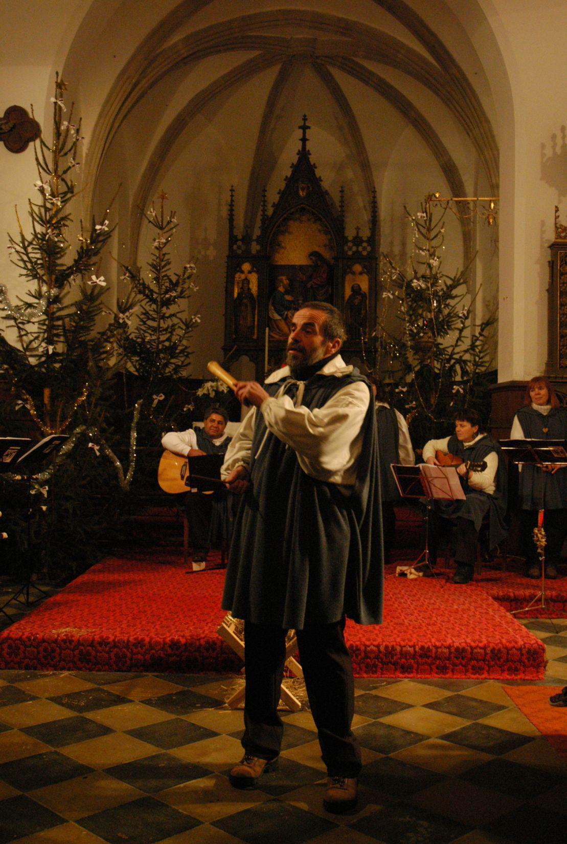Tříkrálový koncert na Křivoklátě