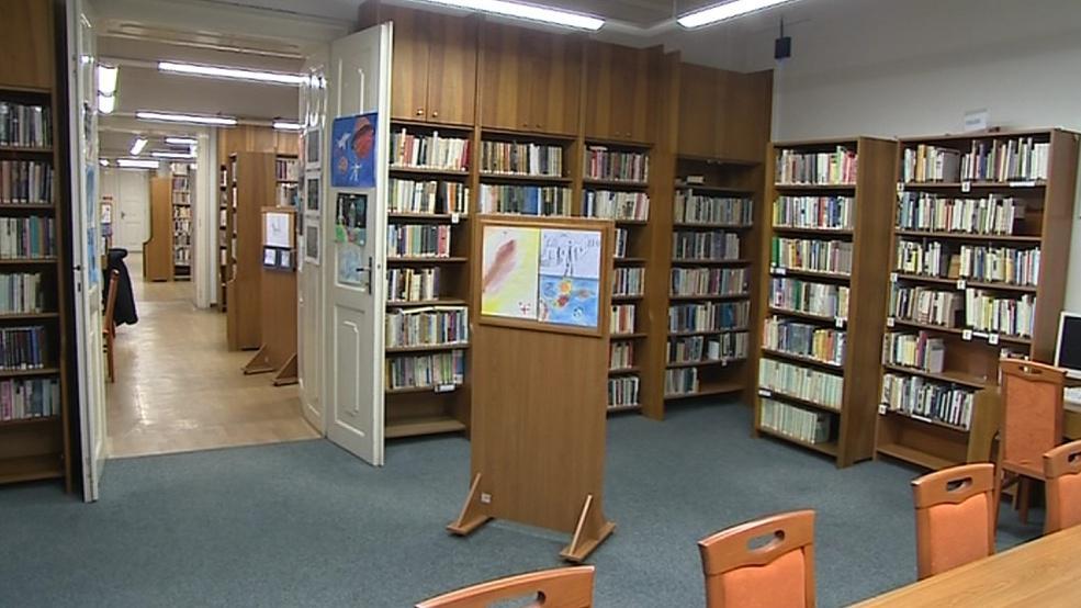 Knihovna v Panském domě