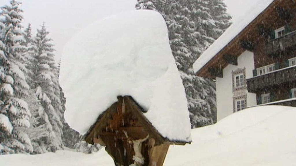 Rakousko pod sněhem