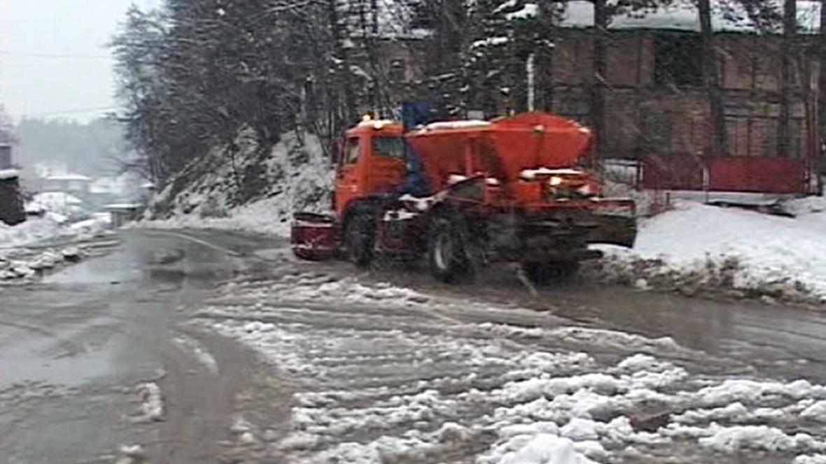 Bulharsko zasypal sníh