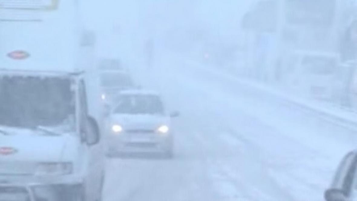 Sněhová kalamita v Turecku