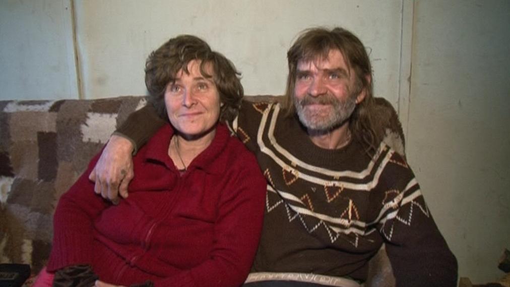 Antonín Strmiska s družkou Drahomírou Bukvovou