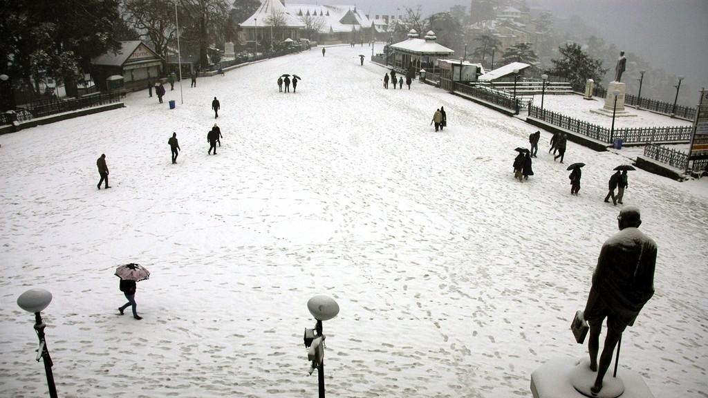 Sníh v Indii