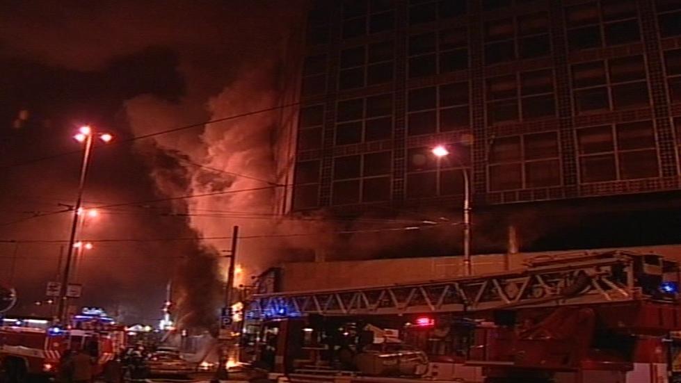 Požár brněnského kasina